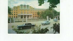 CHINA POSTCARD TO CANADA 1977 CHUNGCHOU GUEST HOUSE AIRMAIL MULTI-FRANKED