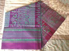 Thai Woven Silk Fabric