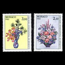 Monaco 1984 - Monte Carlo Flower Show - Sc 1440/1 MNH