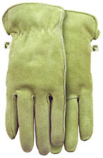 Midwest Quality Gloves 2910D4-L Ladies Genuine Suede Cowhide Gloves, Large
