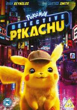Pokémon Detective Pikachu (DVD) (2019) Ryan Reynolds