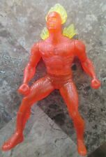 "1996 Human Torch 4"" Marvel McDonald's Action Figure"
