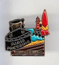 RARE PINS PIN'S .. FER A REPASSER IRON TEINTURERIE PHARE DEAUVILLE PLAGE 14 ~BF