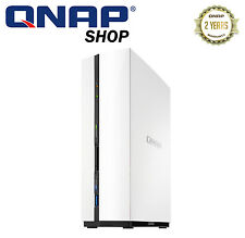 QNAP TS-128 1 Bay Home & SOHO Diskless NAS 1.1GHz Dual-core CPU 1GB RAM