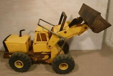 Vintage Mighty Tonka Turbo Diesel Front End Loader Pressed Steel Construction