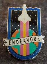 NASA Pin Endeavour First Flight (Free shipping on 3 or more)