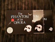 THE PHANTOM OF THE OPERA 2CD remaster 1987 ORIGINAL CAST RECORDING Like New