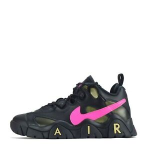 Nike Air Barrage Low QS Men's Trainers Shoes Black/Pink