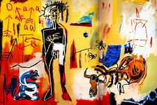 Jean Michel Basquiat Poison Oasis Modern Abstract Canvas Fine Art 20 x 30 A1