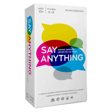 Say Anything 10th Anniversary Edition Party Card Game