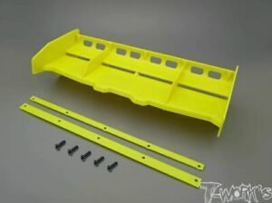 TO-308 T-Works 1/8 Airflow Buggy Wing YELLOW