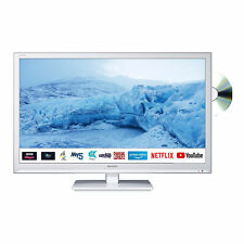 """Sharp 24"""" Inch HD Ready LED Smart TV with Built-In DVD Player and Freeview Play"""