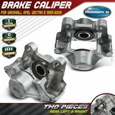 2x Brake Caliper Rear For Opel Vauxhall Vectra B 1.6 1.8 2.0 2.2 2.5 2.6 1995-03