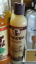 Howard Feed and Wax. Wood Polish & Conditioner. 8oz. Beeswax & Orange