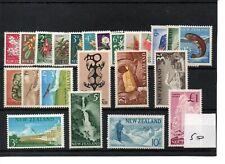 New Zealand - Elizabeth 1960  (50) - Definitives - 23 values - mint  SG Cat £55
