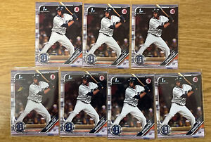 Riley Greene 1st Bowman 7 Card Lot
