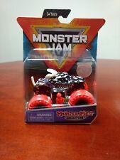 Monster Jam Monster Mutt Dalmatian Variant Red Tires White Ears 1/64 Spin Master