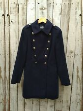Wallis Navy Military Coat Size: 10 / Was Selling At Asos
