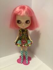 Cute Blythe Button Arcade Dress And Socks Us Seller