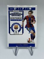 2019-20 Panini Chronicles Soccer LIONEL MESSI Historic Ticket FC Barcelona PSA?