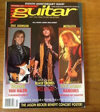 Guitar for the Practicing Musician November 1991- Metallica - RAMONES - VanHalen