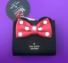 Kate Spade Disney Adalyn Minnie Mouse Wallet NWT Black