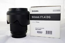 Sigma Art 50mm f1.4 lens for Sony A-mount E-mount
