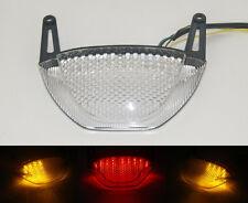 Tail Brake Turn Signals Blinker Led Light Clear For 2007-2012 HONDA CBR 600 RR