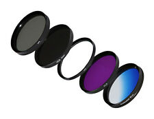 62mm Filtro cronologia + nd8+cpl+ UV Filtro di protezione + FLD + 62mm