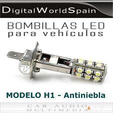 2 BOMBILLAS DE LEDS H1 PARA FAROS ANTINIEBLA LUZ BLANCA