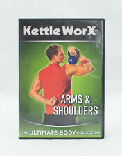 KETTLEWORX ARMS & SHOULDERS THE ULTIMATE BODY COLLECTION DVD Ryan Shanahan