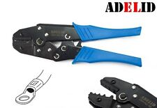 ADELID Crimpzange für unisolierte Kabelschuhe von 1,5 bis 10mm² Quetschzange