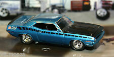 1970 70 Plymouth Barracuda AAR Cuda 440 V-8 1/64 Scale Muscle Car