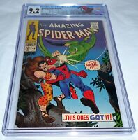 Amazing Spider-Man #49 CGC Graded 9.2 Vulture Blackie Drago Kraven Appearance 🔥