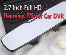 2.7'' Ltps Car Dvr Review Mirror Dash Duel Len Cam Full Hd Infrared Night Vision