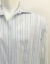 Tommy Hilfiger 16.5 34-35 Long Sleeve Striped Shirt