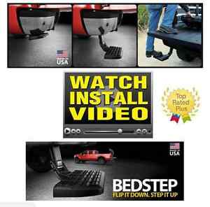 Amp-Research Bed Step Trail Series for 2011-2014 Chevy Silverado/Sierra 3500 HD