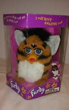 COLLECTABLE Vintage1998 TIGER Print Blue Eyes FURBY Model 70-800  NEW IN BOX!