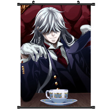 "Hot Japan Anime Black Butler Undertaker Home Decor Poster Wall Scroll 8""x12"" FL"