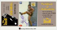 1994 Dynamic AFL Sensation MVP Acetate Signature Card CC3 Jason Dunstall(Hawks)