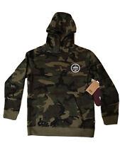 VANS Checker 66 Pullover Hoodie Camo Green Brown OTW Youth SZ M ( VN0A4TS8CMA )