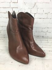 River Island Women's Brown High Heels Ankle Shoes Boots Size 7