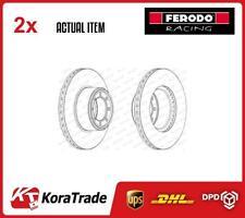 2 x FERODO BRAKE DISC SET FCR320A