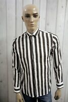 LIU JO Camicia Uomo Shirt LIU.JO Casual Cotone Manica Lunga Chemise Taglia S