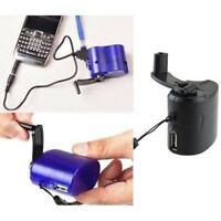 USB For Mobile Phone Hand Crank Emergency Power Supply Manual Dynamo Charger
