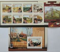 Guinea / Paintings  by Camille Pisasaro 1830-1903 / 2 minisheets MNH*