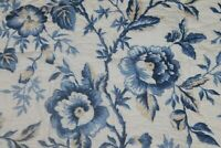 Martha Stewart Pillow Sham  Standard Periwinkle Blue FLORAL NEW