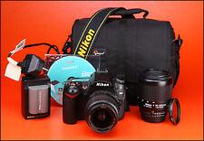 Nikon D90 DSLR Camera Dual Lens Kit  with AF-S 18-55mm II & AF 80-200mm