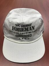 Vintage Big George Foreman Official Training Camp El Dorado Reno Rare Zip Boxing