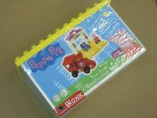 NEW SEALED Peppa Pig Train Stop Building Blocks Set BIG Bloxx Action Figure